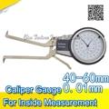 40 60mm messschieber für innenmaß messschieber messuhr-in Messgeräte aus Werkzeug bei