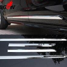 Аксессуары 4 шт. ABS хромированные дверные накладки для Volvo XC90 стайлинга автомобилей