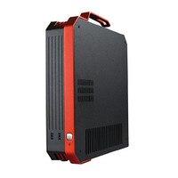 Desktop PC DIY Mini HTPC ITX Computer Case All Aluminum Pure Aluminum Mini Computer Case Desert Eagle 2 Generation