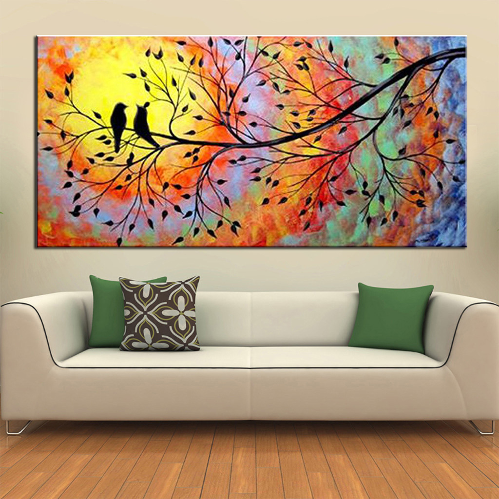 Wall Art Home Decoration The Hand Single Width Oil