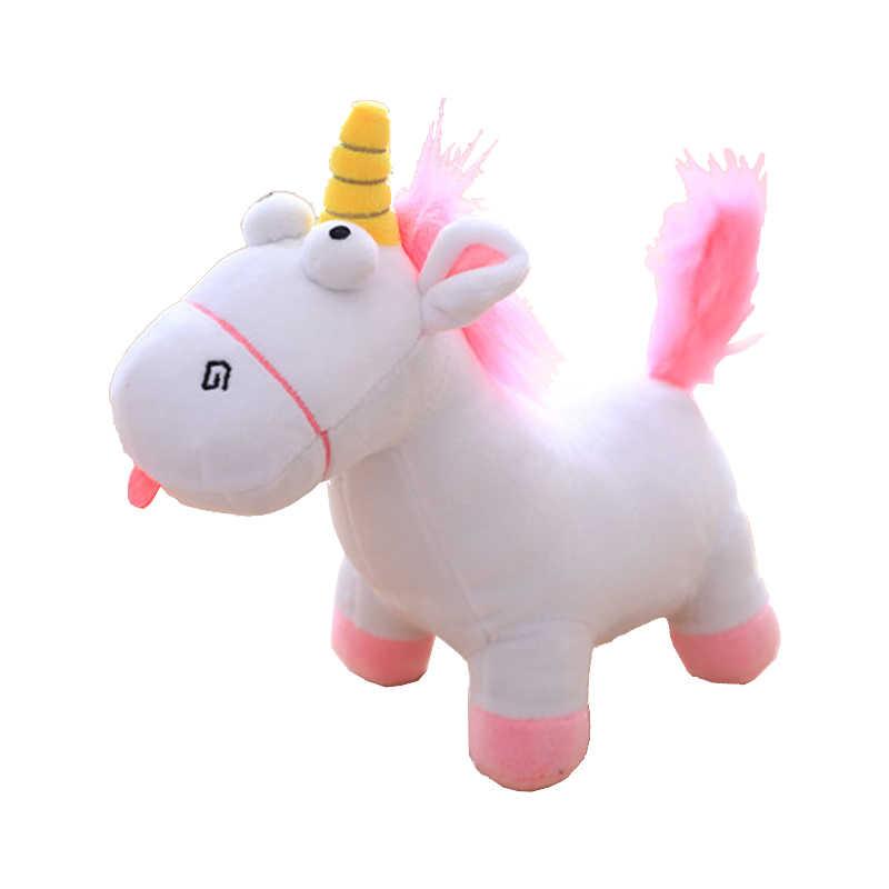35 centímetros Adorável Unicórnio Kawaii Crianças Brinquedos Boneca de Pelúcia Macia Bonito Stuffed Animal Baby Dolls Unicornio Kawaii Presente de Aniversário para crianças