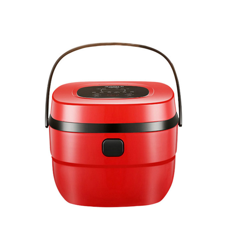 Rice Cooker Electric Steamer Porridge Pot Household Multifunction Intelligent Timing High Capacity Durable Easy To Clean