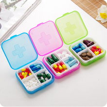 new weekly sort folding vitamin medicine pill box makeup storage case container zh065 Medicine Plastic Weekly Tablet Home Pill Box Case Portable Candy Vitamin Container Storage Organizer Travel Accessories Boxes