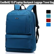 "CoolBell 15.6"" inch Unisex Latop Backpack Nylon Shockproof Waterproof Travel Bag for MacBook /Notebook//Netbook /Chromebook"