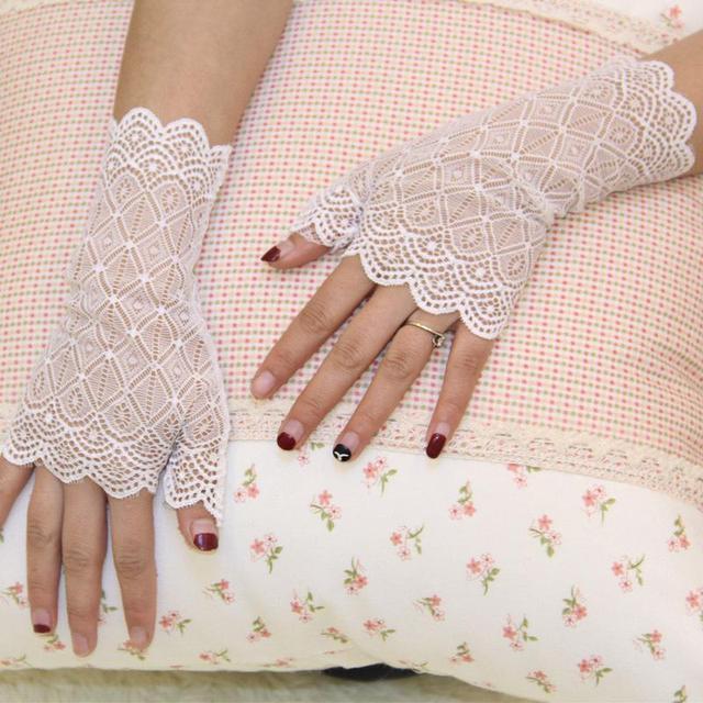 Spring Summer Women Gloves...