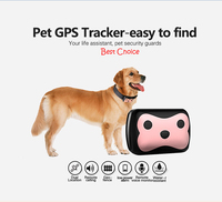 2016 New Arrial GPS LBS Wifi Tracker Collars For Pets Dogs Small Animal Smart Necklace With