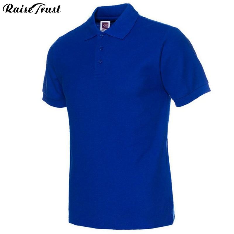 Moške polo majice, moške polne barve, polo majice Camisa Masculina, - Moška oblačila - Fotografija 1
