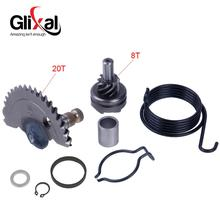 Kick-Start-Shaft Moped 139QMB Scooter 49cc Chinese 50cc Glixal GY6 with Idle-Gear-Sets
