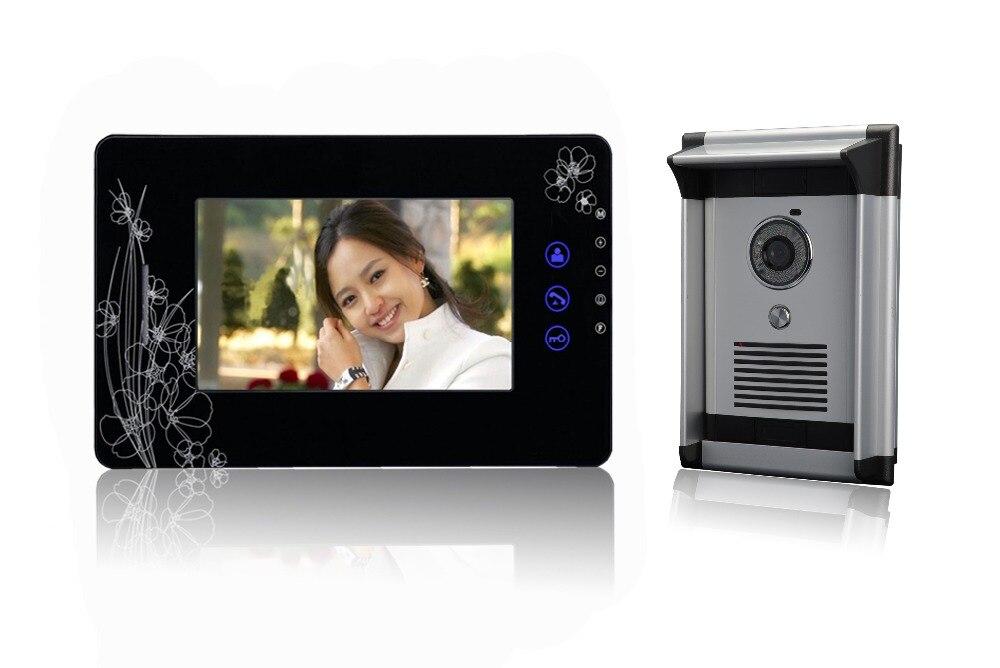 7 Inch Color TFT Monitor 600TVL  Video Door Phone