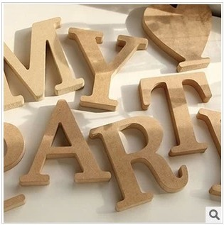 wedding favor new wood standing wooden letters alphabet or numbers wedding birthday supplies home decor 10cm