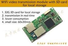 FPV Беспроводной P2P 30fps видео в реальном времени WI-FI передатчик совместимый IPhone, IPad, Android системы передачи AV к WI-FI