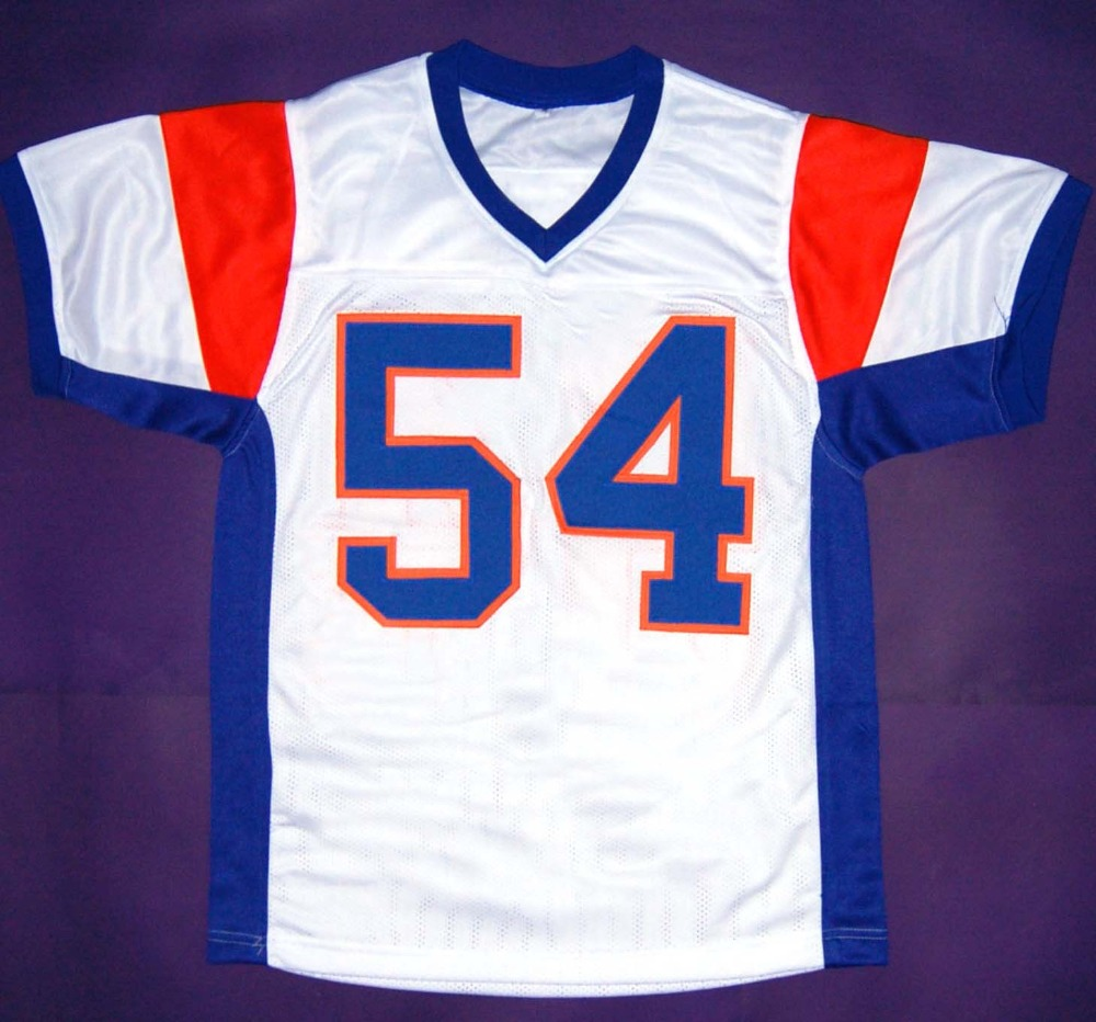 01d7fc201e3 #54 Kevin Thad Castle Jersey,#7 Alex Moran Jerseys,White Stitched Blue  Mountain State Movie Jersey S 3XL Free shipping-in America Football Jerseys  from ...