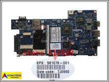 original Integrated 2.26GHz / 581078-001 for HP Probook 5310M Laptop Motherboard 100% Test ok
