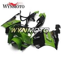 Full ABS Plastics Fairings For Kawasaki ZX7R ZX 7R 1996 2003 96 97 98 99 00 01 02 03 Motorcycle Fairing Kit Green Black Bodywork