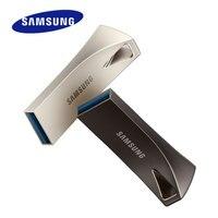 Samsung-محرك فلاش USB BARplus ، 32 جيجابايت ، 64 جيجابايت ، 128 جيجابايت ، 256 جيجابايت ، USB 3.1 معدني ، بطاقة ذاكرة