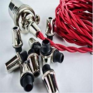 Image 5 - Poignée pour câble métallique pour le soulagement des contraintes de câble, style Vintage, 10 pièces/lot