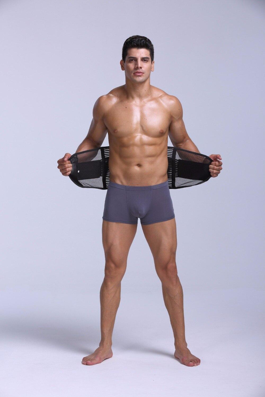M-2XL Summer Breathable Mesh Men Waist Slimming Belt Tummy Belly Control Weight Loss waist training corsets Body Shaper