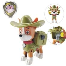 цена на Paw Patrol Dog Tracker Puppy Patrol Figure Patrulla Canina Toys PVC Doll Action Figures Model Toy  Kids Toys