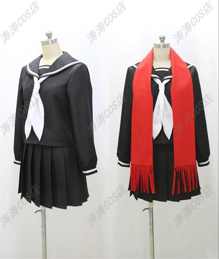 Free Shipping Kagerou Project TATEYAMA AYANO Cosplay Costume High Quality Custom Sailor Suit