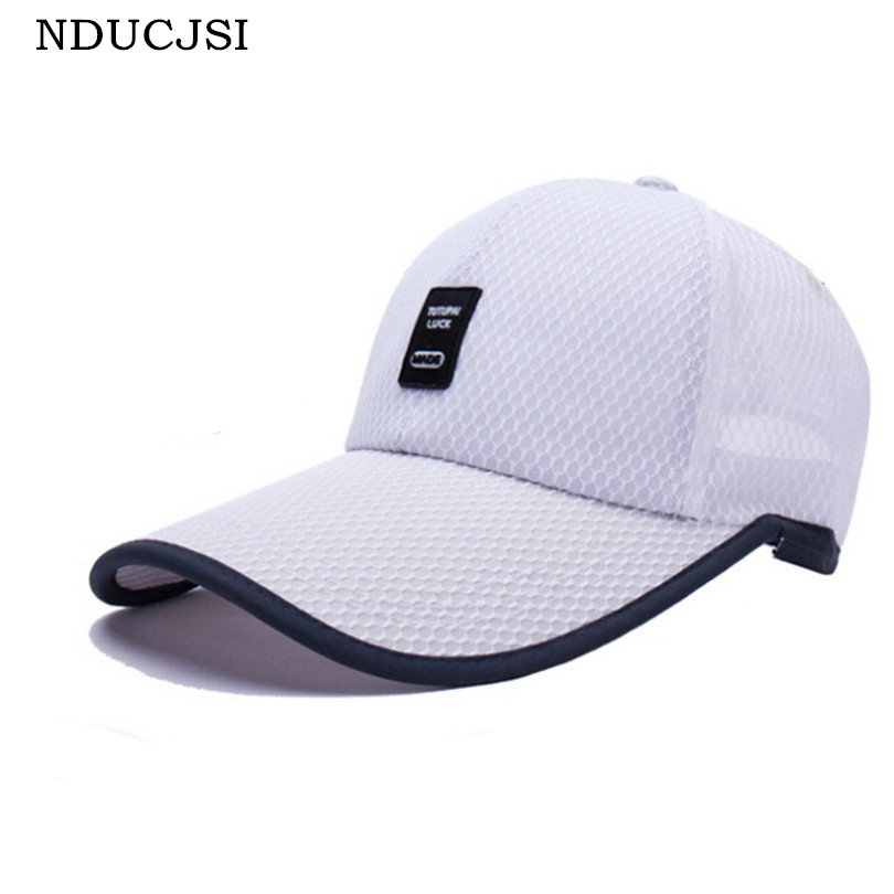 NDUCJSI 2017 Fashion Summer Unisex Outdoor Hats Casual Adjustable Sun Hats Adult Patchwork Sports Gorras Golf Solid Colors Caps