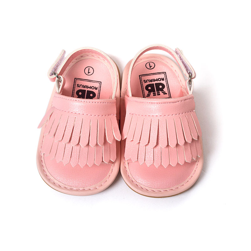 Humorous 2016 Newest Styles Baby Soft Tassel Moccasins Girls Moccs Baby Booties Shoes Bowknot Design Mocs Infant Shoes Hot Pink Color Baby Shoes First Walkers
