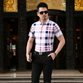 High quality fashion new design summer men's striped short sleeve polo shirt