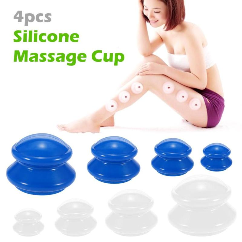 цена на Chinese Medicine Cupping Massage Cans Relax Body Health Monitors Product Open Pull Vacuum Bank Tank Curve Suction Therapy Set C3