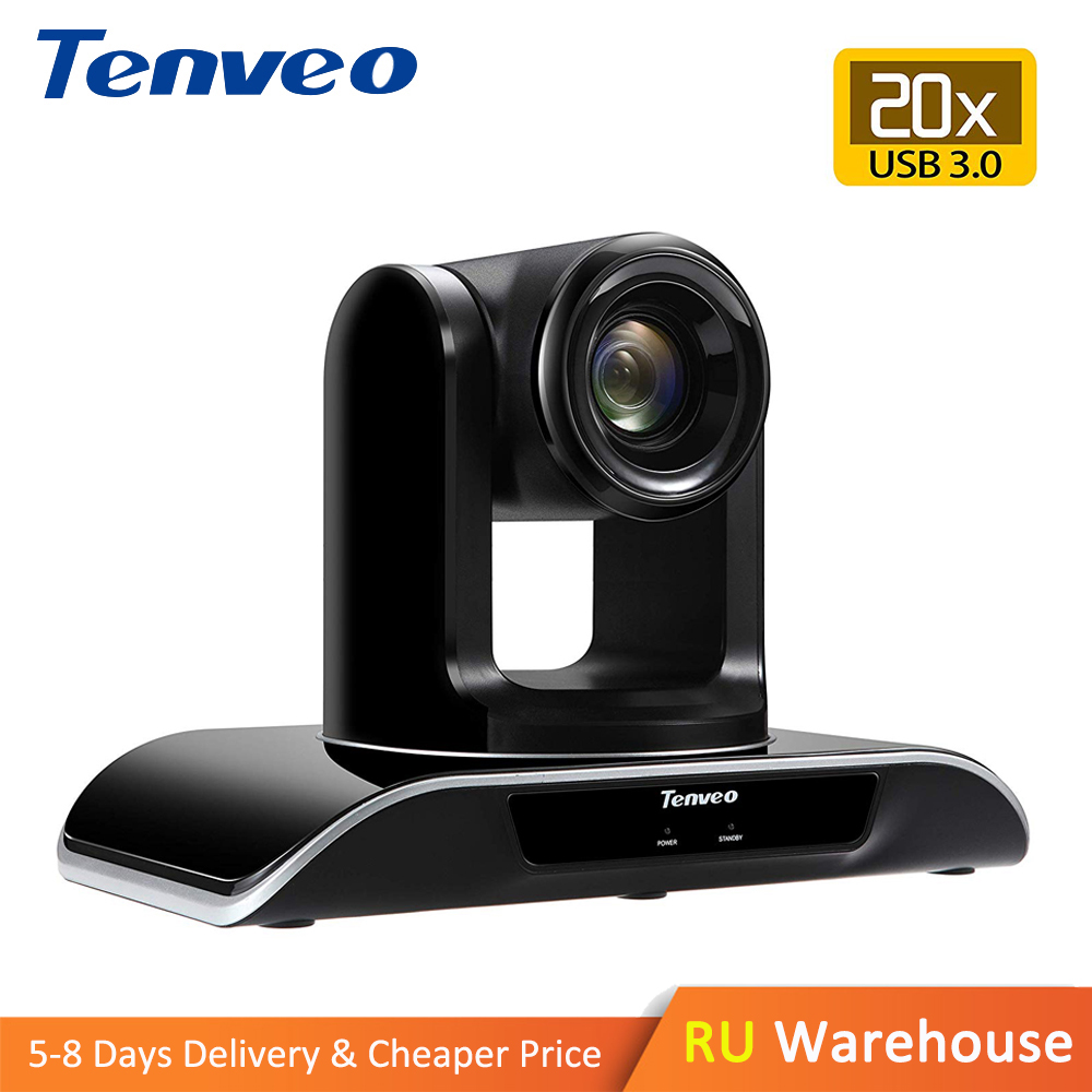 Tenveo 1080p60fps 20X Zoom Camera USB3.0 PTZ HDMI Output HD Video Conference Camera Webcam Plug-N-Play for HD Video Streaming image