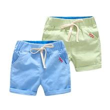 Летние шорты для мальчиков; хлопковые шорты для девочек; Детские шорты; одежда для малышей; трусики для малышей; Детские пляжные шорты
