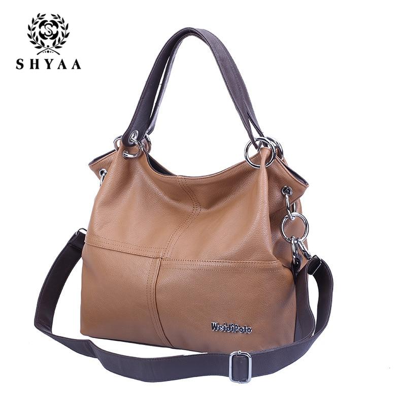 SHYAA 2017 New Fashion Splicing Inclined Women Bag Cross Body Handbag Single Shoulder Bag Women Messenger Bags
