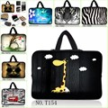 "9.7 10 12 11.6 12 13.3 15.6 17.3 13 15 17"" inch laptop bag tablet sleeve case cover pouch +Hide Handle For computer notebook PC"