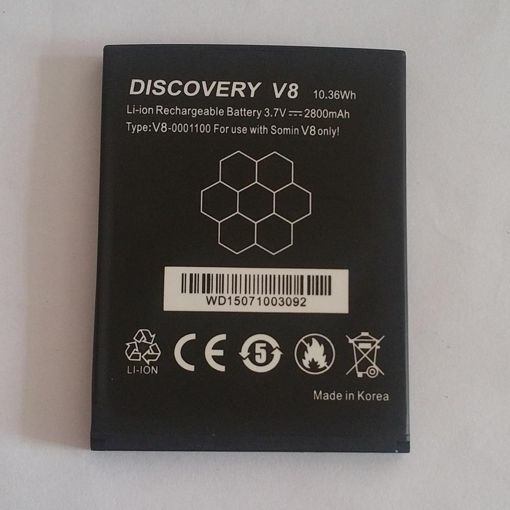 imágenes para 100% Original Capacidad 2800 mAh Batería de Repuesto Para Discovery V8 Semilunar LT52