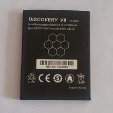 100% Original Spare Battery For Discovery V8 Lunate LT52 Capacity 2800mAh