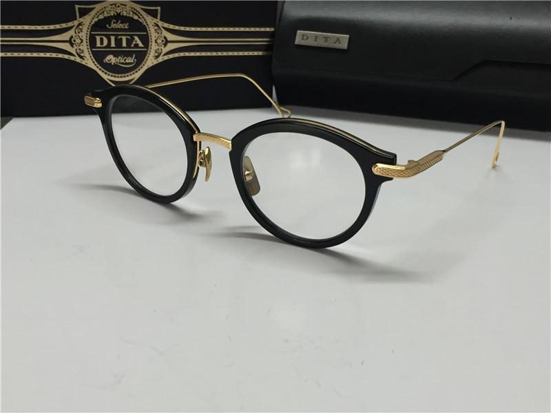 online shop 2015 new dita eyewear dita edmont round shape glasses frame shiny gold women design optical 18k gold aliexpress mobile - Dita Frames