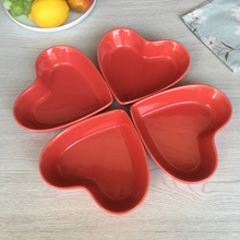 Heart shape baking dish, creme brulee dish for quiche, tart, red heart bakery