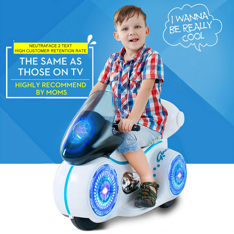Fengda электрический автомобиль для детей езды на электрическом мото с прохладным светом игрушки для мальчиков мини мото игрушка игрушечная м