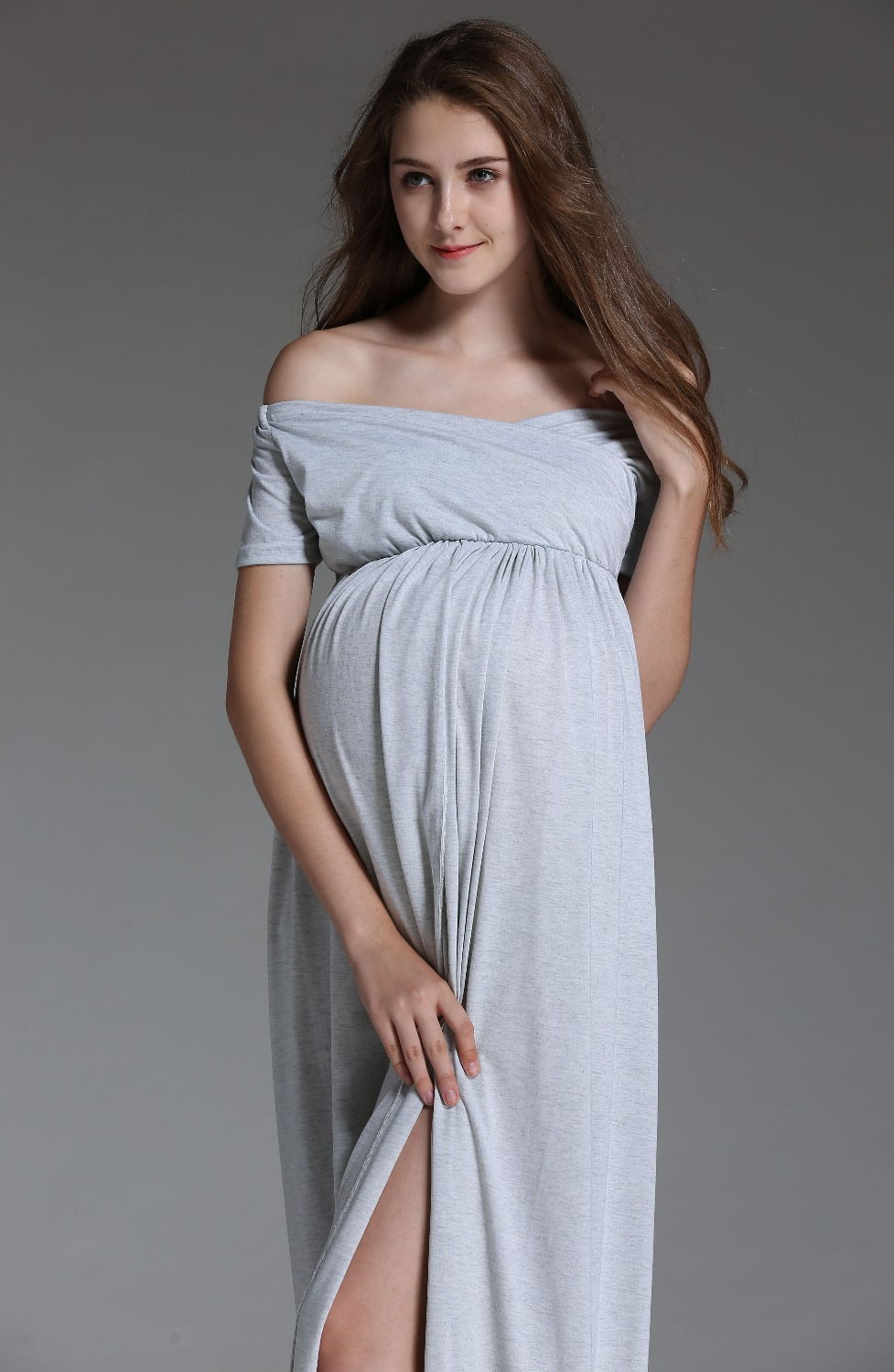 Maternity dress for baby shower plus size lace baby shower new cotton maxi maternity dress summer clothes for pregnant women long dresses for photography shoot baby shower dresses ombrellifo Choice Image
