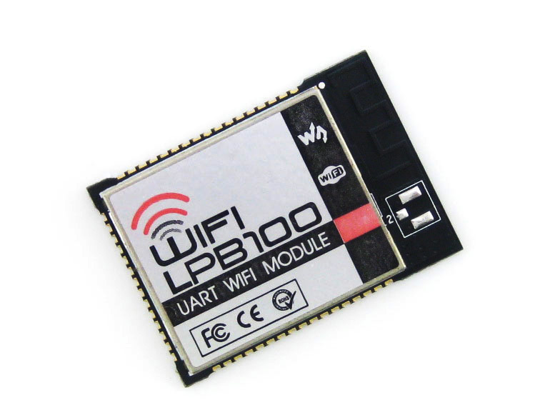 module WIFI-LPB100-A # LPB100 WiFi Module PCB Antenna Up to 5 TCP Client connections Supports GPIO SPI UART