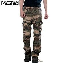 MISNIKI 2017 Heißer Camouflage Cargohosen Männer Baumwolle Military Männer Hosen