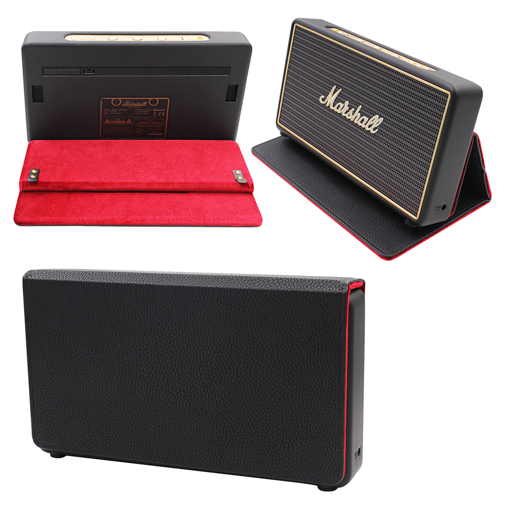 2019 Newest Foldable With Magnetic Suction Function Protective Bag Cover Case for Marshall Stockwell Portable Bluetooth Speaker|Speaker Accessories| |  - title=