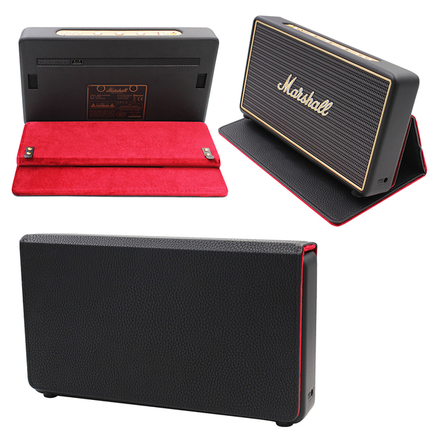 2019 Newest Foldable With Magnetic Suction Function Protective Bag Cover Case for Marshall Stockwell Portable Bluetooth Speaker