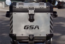 "GSA Adventure Motorcycle Reflective  Decal Kit ""GSA"" for Touratech Top Case"