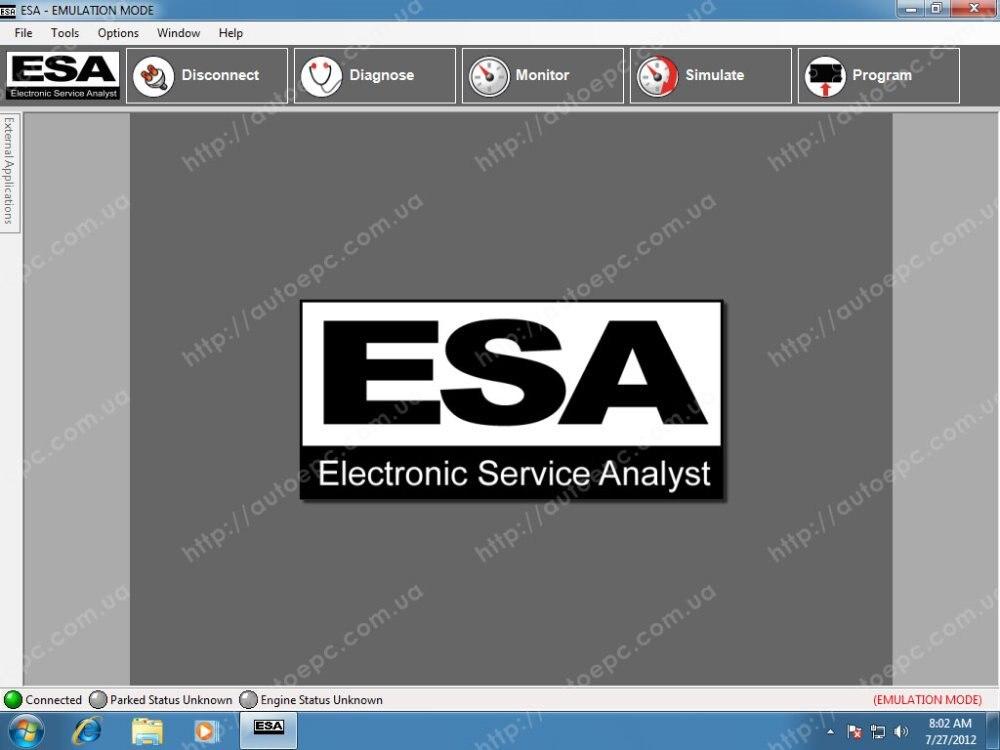 ESA Electronic Service Analyst 5 1 19051 1 keygen UNLOCK for paccar