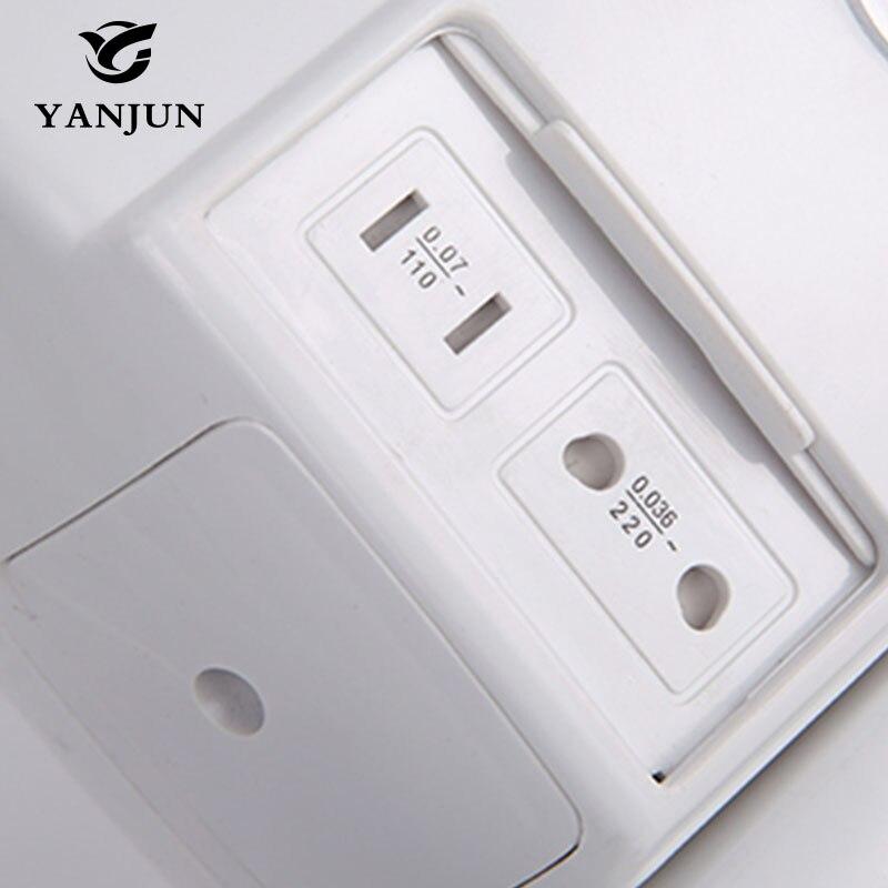 Yanjun фен для гостиничных настенных электронных Фены для кожи тела устройство скоростной сушилки для общественных полок для ванной комнаты 220 В YJ 2130 - 4