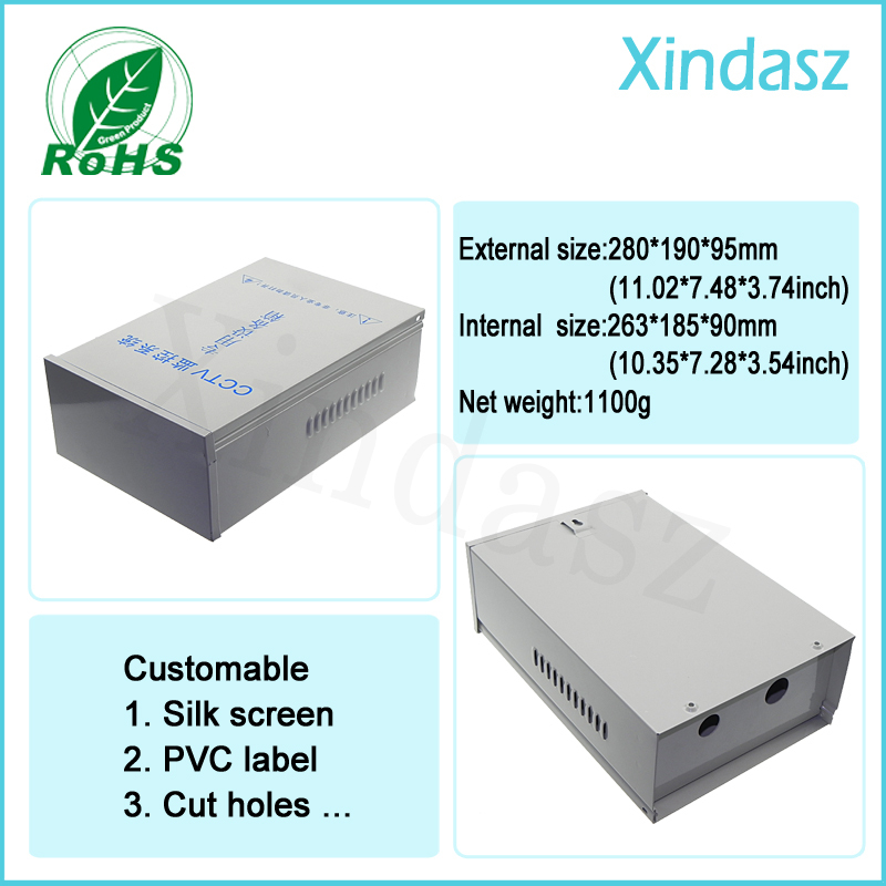 AC 220V input DC12/2A output Regulated Power Supply Box Distributed for CCTV Security Camera Security monitoring waterproof box 4pcs 12v 1a cctv system power dc switch power supply adapter for cctv system