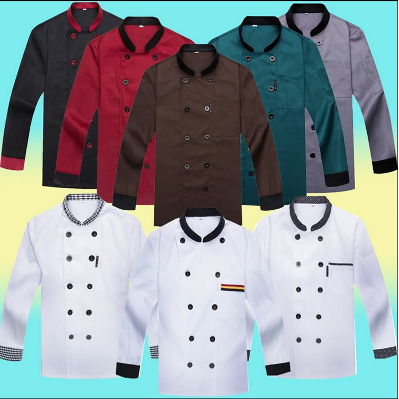Online buy wholesale chef coats from china chef coats for Restaurant uniform shirts wholesale