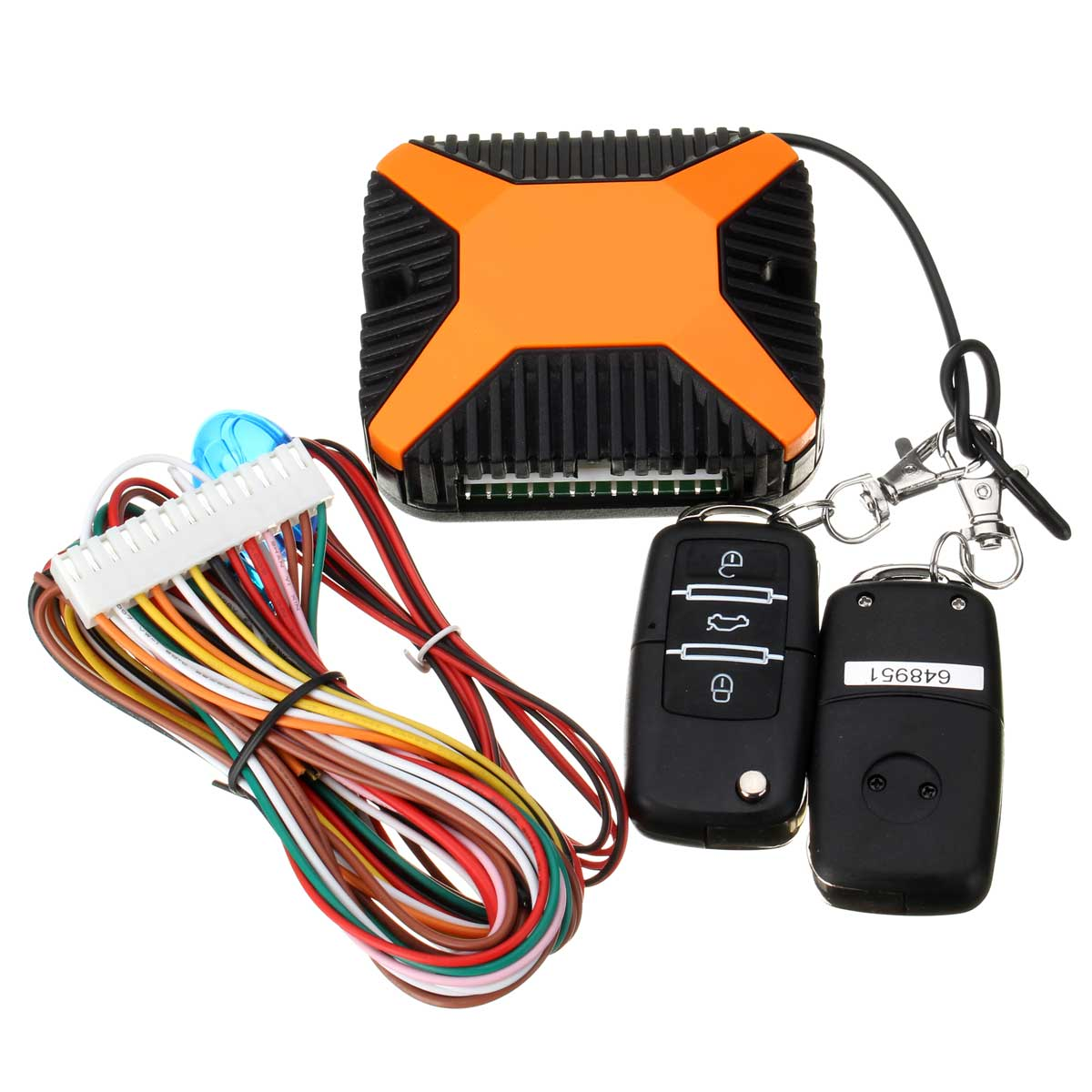 Auto Keyless Entry With Flip Key Remote Car Central Locking System With Rise Window Automaticly For LADA Passat