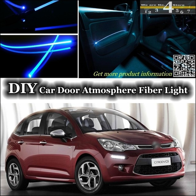 for citroen c3 c3 picasso interior ambient light tuning. Black Bedroom Furniture Sets. Home Design Ideas