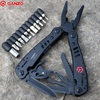 G301b Ganzo Tools Knife Pliers Outdoor Survival Gear Camping Knives Huntsman Pocket Edc Folding Plier Knife