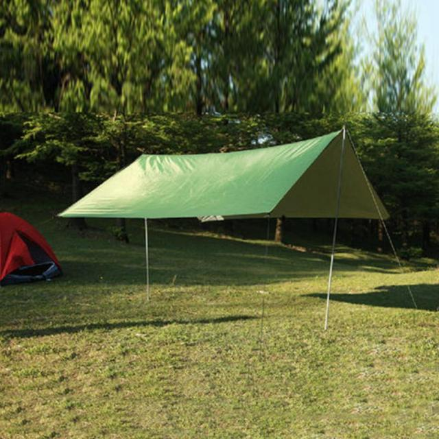 Anti UV Ultralight Gear 300*300cm 210T Silver Coating Outdoor Large Tarp Shelter High Quality & Anti UV Ultralight Gear 300*300cm 210T Silver Coating Outdoor ...